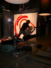schilderen met passie, 100% passie, modern painting, actionpainting