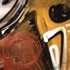 2-luik in acryl en airbrush op linnen, 200x100 cm