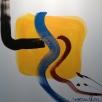 Acrylic on linen, 120x120 cm