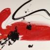 Oil en acryl op linnen, 200 x 50 cm